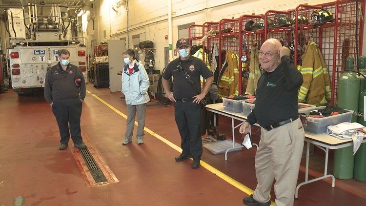 2 months after cardiac arrest led to crash, Maine paramedic thanks first responders for life-saving efforts