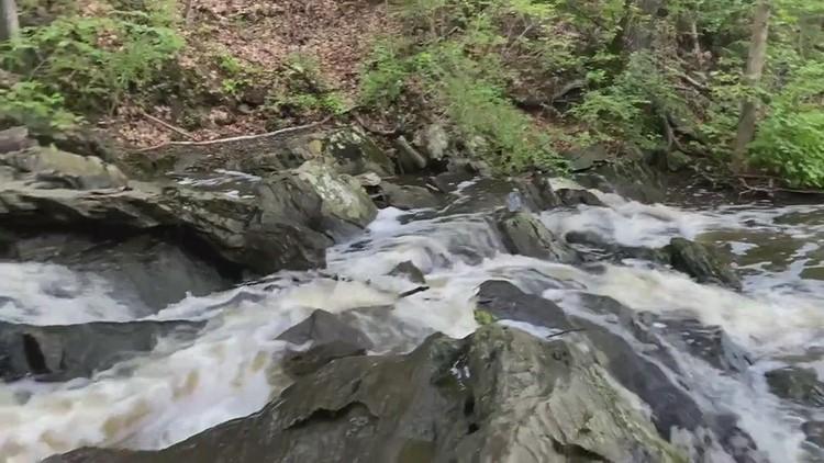 Jewell Falls  after a Rain