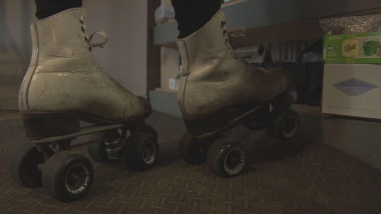 Jeannie Dunnigan's roller skates.