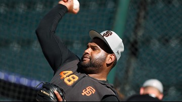 Inflamed elbow interrupts Sandoval's San Fran revival