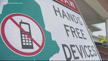 Maine Motorists See Impact of New Hands-Free Driving Law