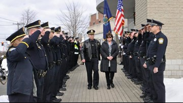 Ed Googins retires after 25 years as South Portland Police Chief