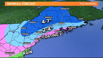 Storm moves out; power outages from wet snow and wind | Breton Blog