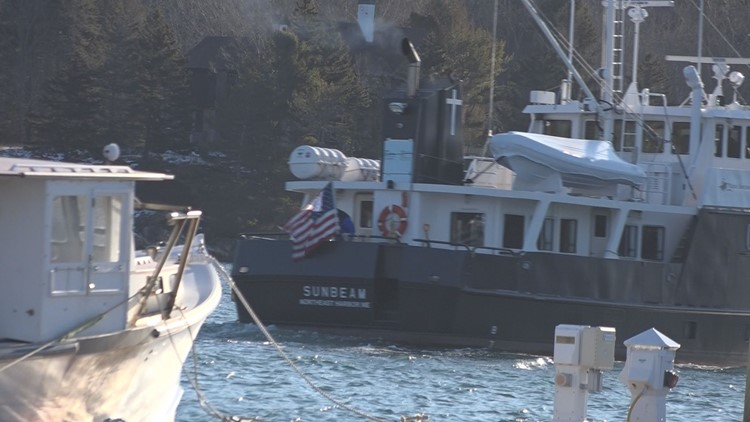 Ship sets sail on mission to vaccinate Maine's most isolated communities
