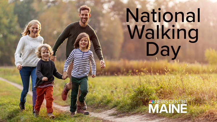 National Walking Day: A look at Maine's famous 'walkers' and the playlist you need to put some pep in your step