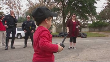 Texas boy with half a heart puts other kids before himself this Christmas
