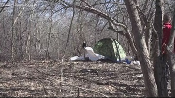 Tent donations to homeless ignites debate