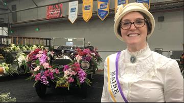 Maine teacher explores thorny history of women's suffrage at Rose Parade