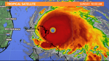 Category 5 Hurricane Dorian slamming northwestern Bahamas | Breton Blog