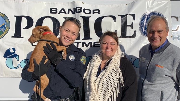 Bangor Police and the Eastern Area Agency on Aging host food drive for pets