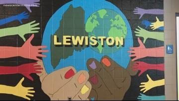 Lewiston students spreading the word on diversity through art