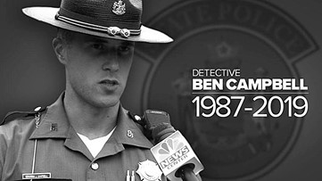 1-Year-Anniversary of the death of Maine Detective Benjamin J. Campbell