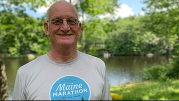 Running against time   68-year-old Sanford man proves you're never too old to start picking up the pace