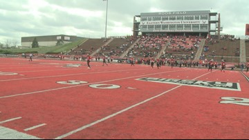 The Black Bears will be seeing red on Saturday