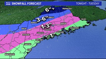 Snow and freezing rain will make for a tricky morning commute