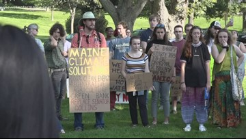 Mainers unite, take part in global climate strike