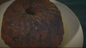 Here's your darn figgy pudding!