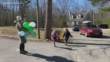 Birthday parades ease the loneliness of coronavirus isolation
