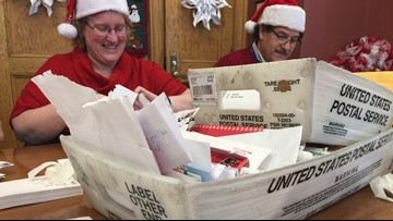 Maine postal workers act as Santa's elves, respond to hundreds of letters for Kris Kringle