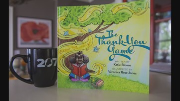 Author Katie Bloom writes about gratitude in her book 'The Thank You Game'