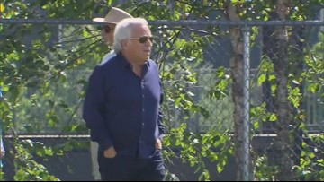 Patriots owner Robert Kraft pleads not guilty to prostitution charges