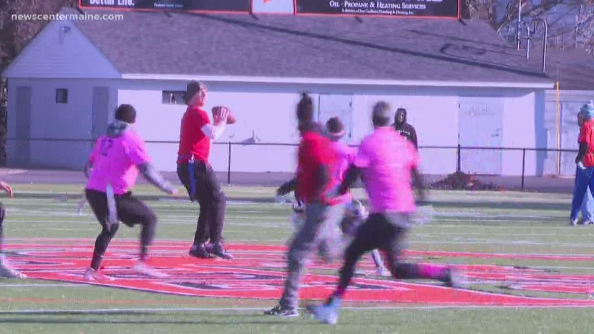 Biddeford High School Alumni Flag Football Game Sparks New Tradition Newscentermaine Com