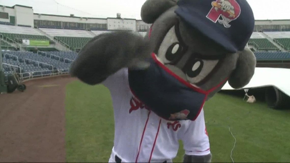 Portland Sea Dogs home opener on May 4