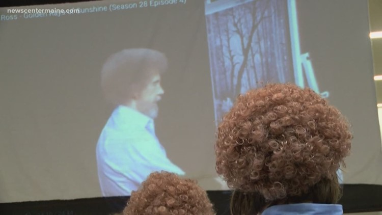 Young Art Students Channel Bob Ross Newscentermainecom