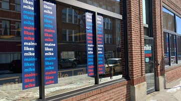 Mike Bloomberg campaign office opens in Bangor