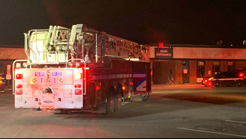 Crews respond to fire at Westbrook Community Center