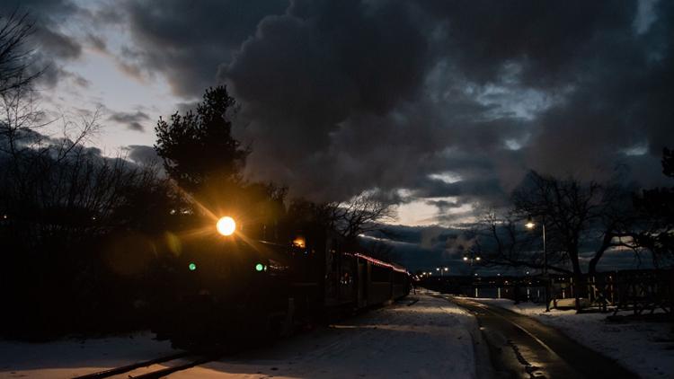Polar Express: Maine Narrow Gauge Railroad