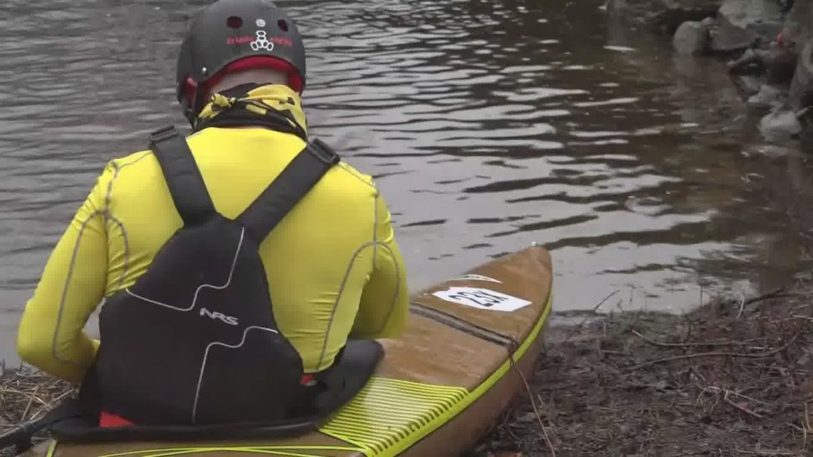 2021 Kenduskeag Canoe Race return