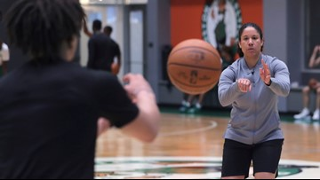 Celtics hire Kara Lawson as assistant coach