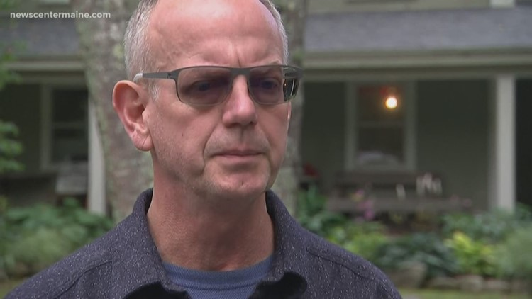 Jay Westra, husband of missing North Yarmouth woman, speaks