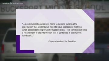 Parents upset over rules for school's new gym