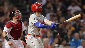 A Phillies sweep keeps Red Sox out of the win column for interleague series