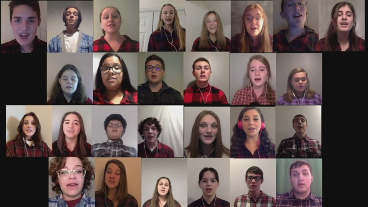 The show must go on...as The Windham Chamber Singers take their holiday tradition online