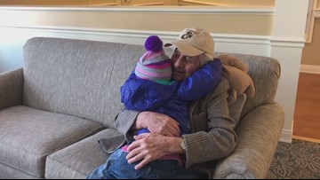 Unlikely Friends | A toddler and a 95-year-old