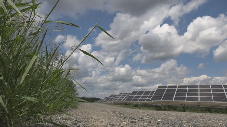 Maine's largest solar power project Milo Solar is 'energized'