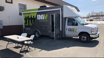 Mobile unit to support Maine Veterans