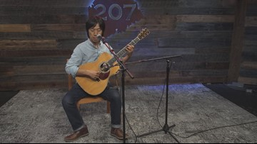 From Japan to America with a guitar