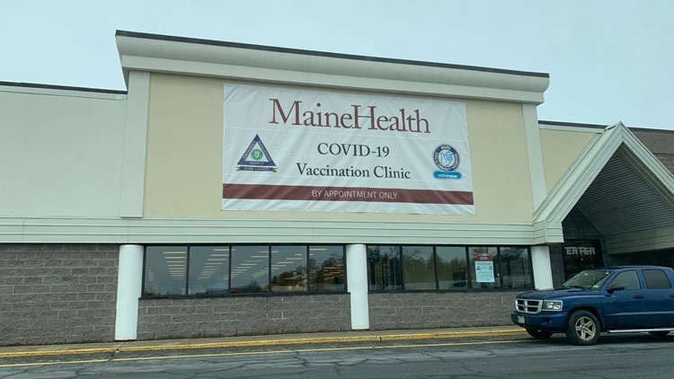Maine's 3rd mass vaccination site expected to open in Sanford in mid-February