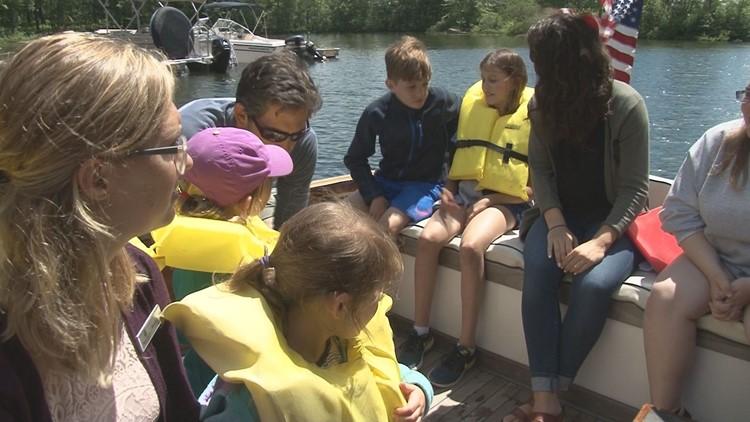 Migis boat ride.