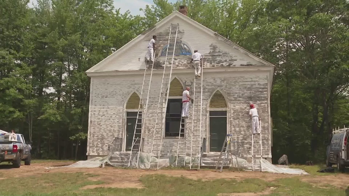 181-year-old Hollis church keeping renovations in the family