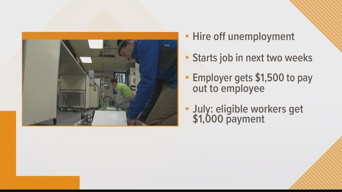 Mills offers cash incentive to get unemployed Mainers back to work