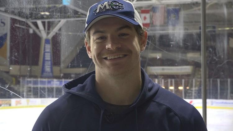 'Goalies Who Give': Maine Mariners, goalie donate season tickets to STRIVE