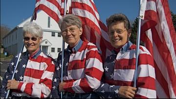 'Freeport Flag Ladies' plan their final stand