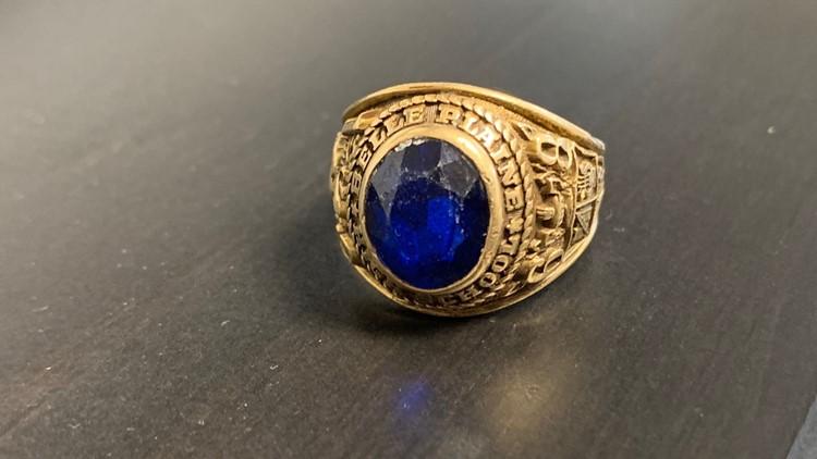 Lost ring on Popham Beach