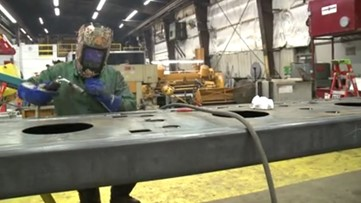 Local welder breaks down gender barriers in her trades career