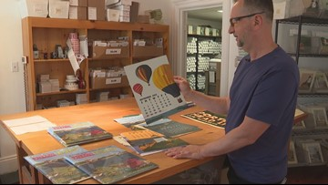 Graphic art calendar celebrates Maine's bicentennial